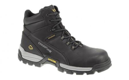 Wolverine 10304 - Men's - Tarmac Waterproof Reflective Composite Toe EH 6 Inch Work Boot - Black