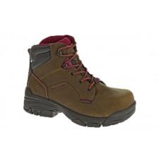 Wolverine 10383 - Women's - Merlin Waterproof Composite Toe EH 6 Inch Work Boot - Brown