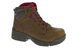 Wolverine 10383 - Women's - Merlin Waterproof Composite Toe EH 6 Inch Work Boot - Brown