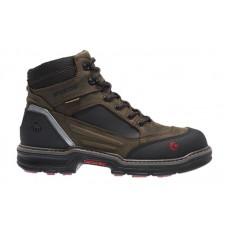 Wolverine 10483 - Men's - 6 Inch Overman CarbonMax® Composite Toe - Brown/Black