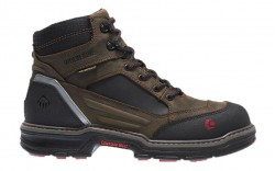 Wolverine 10483 - Men's - 6 Inch Overman CarbonMax® Composite Toe - Brown/Black