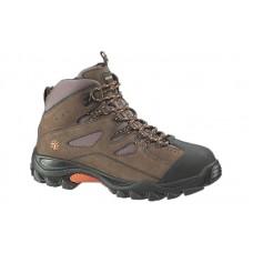 Wolverine 2194 - Men's - Hudson Steel Toe EH Work Boot - Dark Brown/Black
