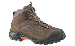 Wolverine 2194 - Men's - Hudson Steel Toe EH Work Boot - Dark Brown/Black