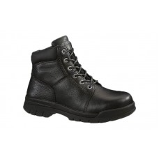 Wolverine 4714 - Men's - Marquette Steel Toe EH 6 Inch Work Boot - Black